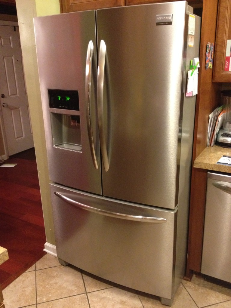Frigidaire Gallery Series Smudge Proof Stainless Steel