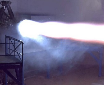 SpaceX test fires Raptor rocket that will take humans to Mars